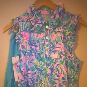 Lilly Pulitzer Sz Medium Silvia Dress NWT